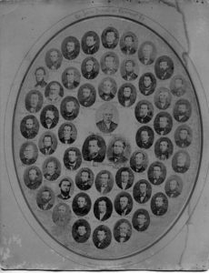 1869 Lutheran Pastors