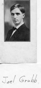 1900 ca Joel Grubb