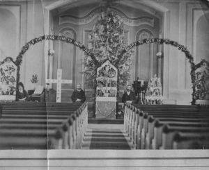 1907 ca Newport, St. Paul's Philip Bosserman, superintendent