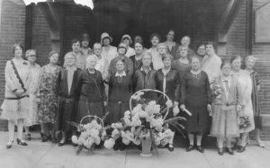 1925 ca Newport, St. Paul's ladies class